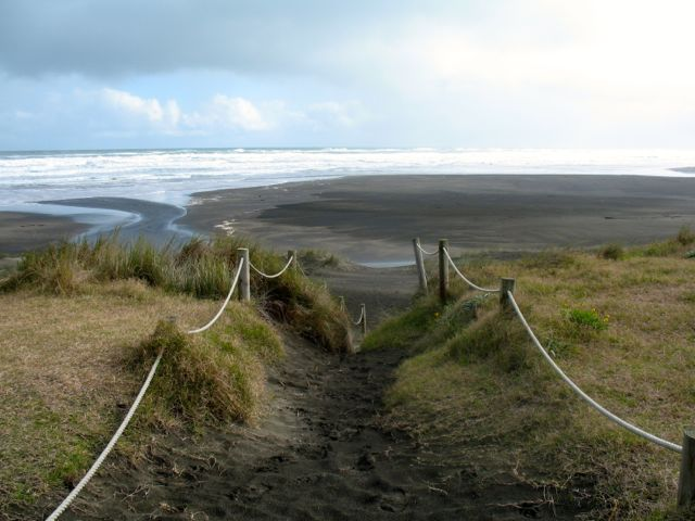 Piha beach path