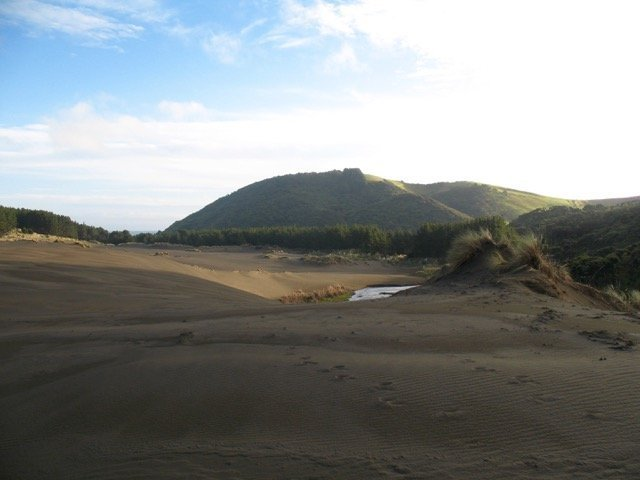 Winter Wainamu dunes