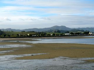 Sandspit, tides and play