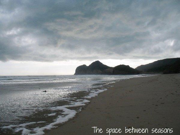 The space between seasons