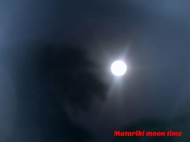 Matariki Moon Time